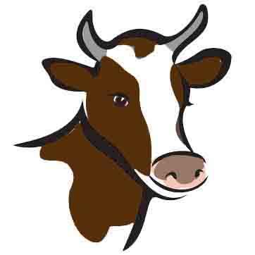 dibujo vaca